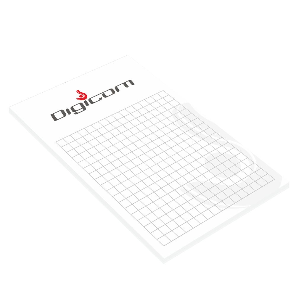 Digicom - wysokonakładowy druk offsetowy - notesy klejone