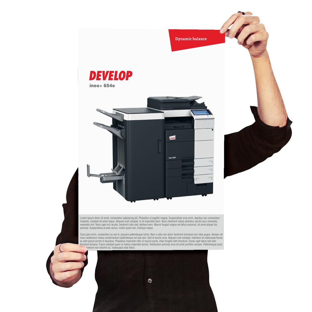 Digicom - niskonakładowy druk cyfrowy - plakaty A3