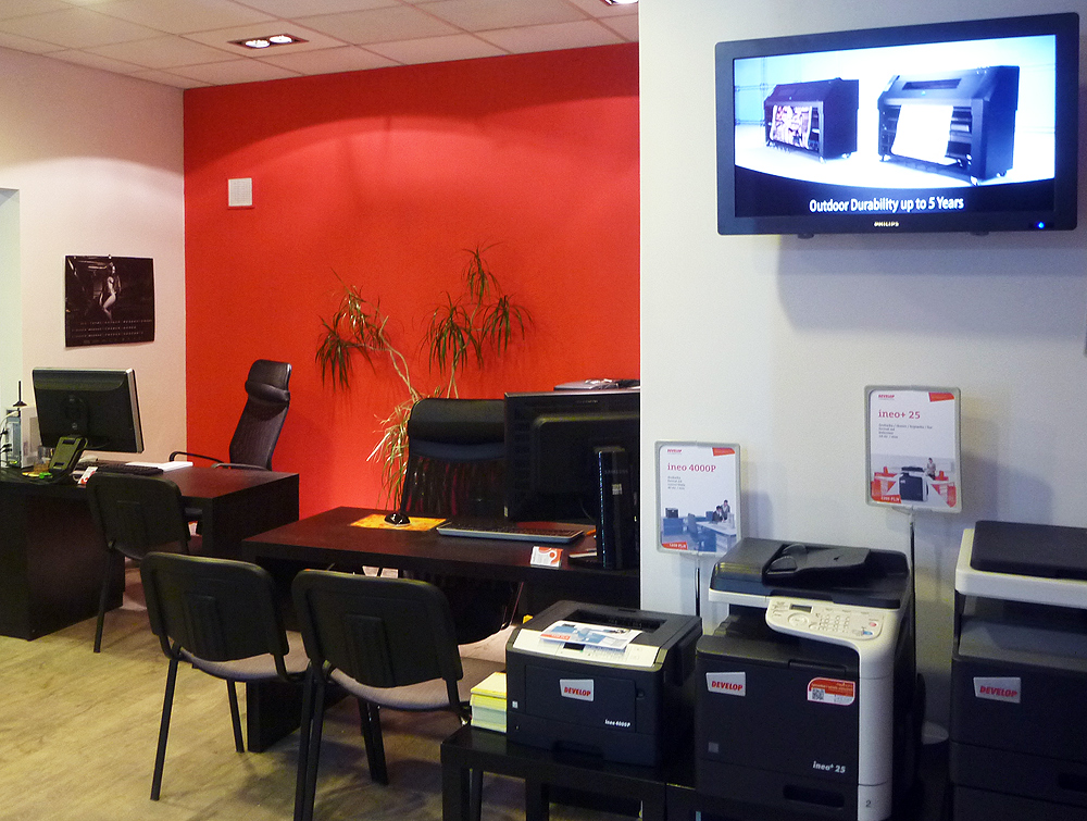 DIGICOM Poligrafia - wnętrze firmy