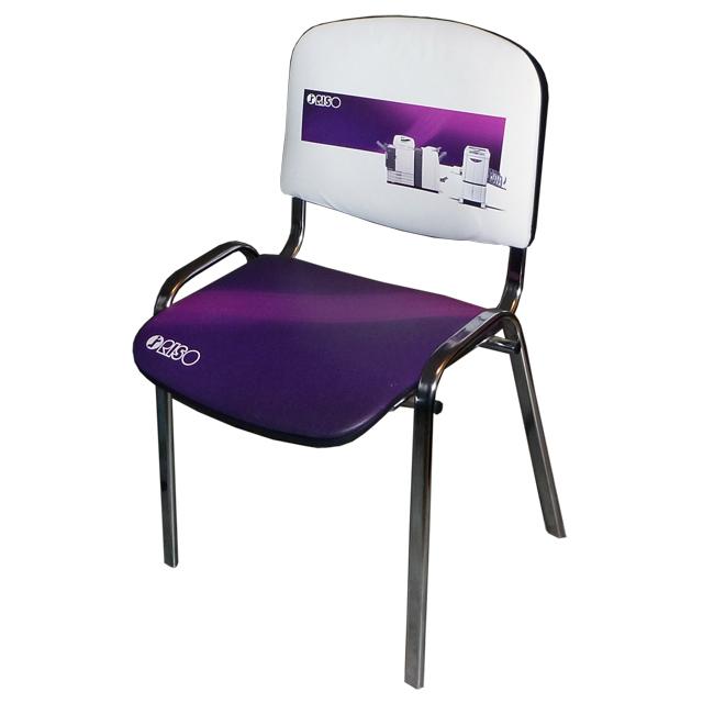 Wielkoformatowy druk solwentowy: Krzesło RISO